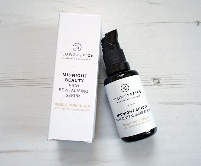 Midnight Beauty Rich Revitalising Serum from Flower and Spice