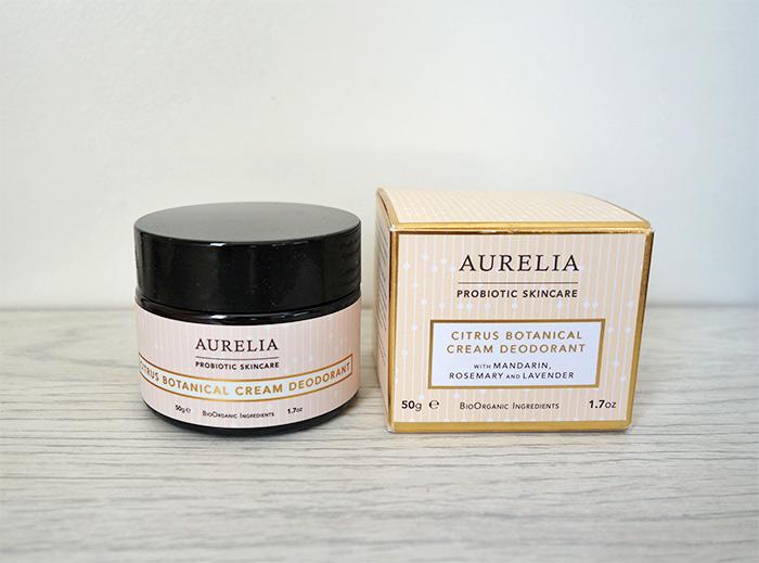 Aurelia Skincare Probiotic Citrus Cream Deodorant